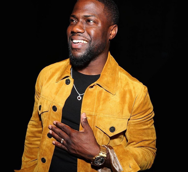 This is coming weeks after he sustained back injuries in a car crash. Kevin Hart got involved in a car crash weeks ago.[Instagram/KevinHart4Real]