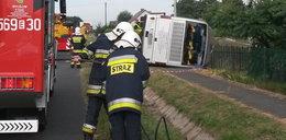 Tragiczny wypadek autokaru. Nie żyje jedna osoba