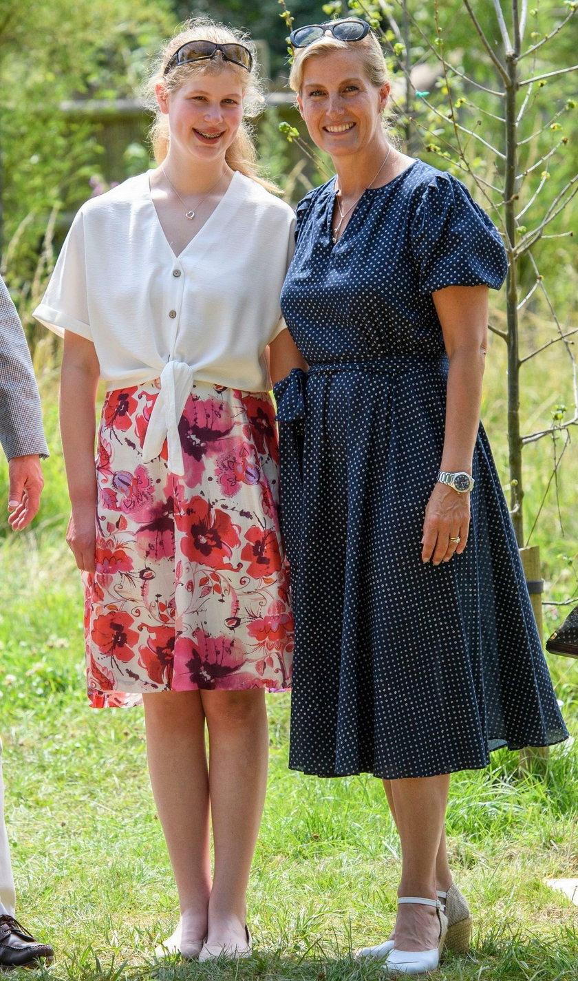 Sophie hrabina Wessexu i jej córka Ludwika