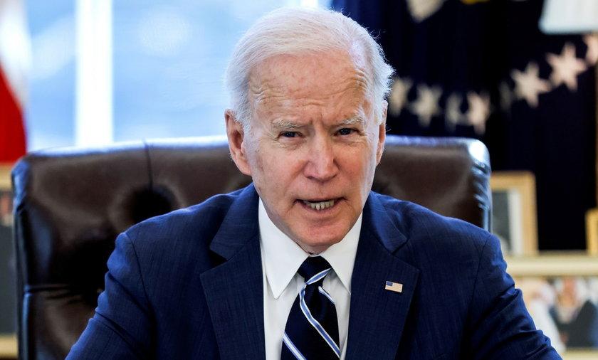U.S. President Joe Biden delivers remarks on the April jobs report