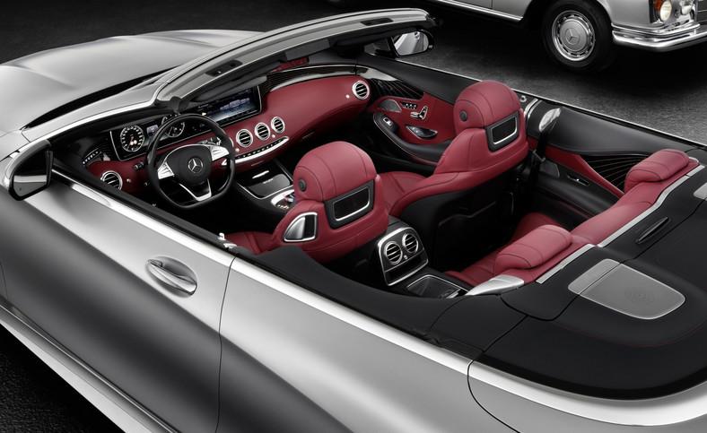 Mercedes klasy S cabriolet