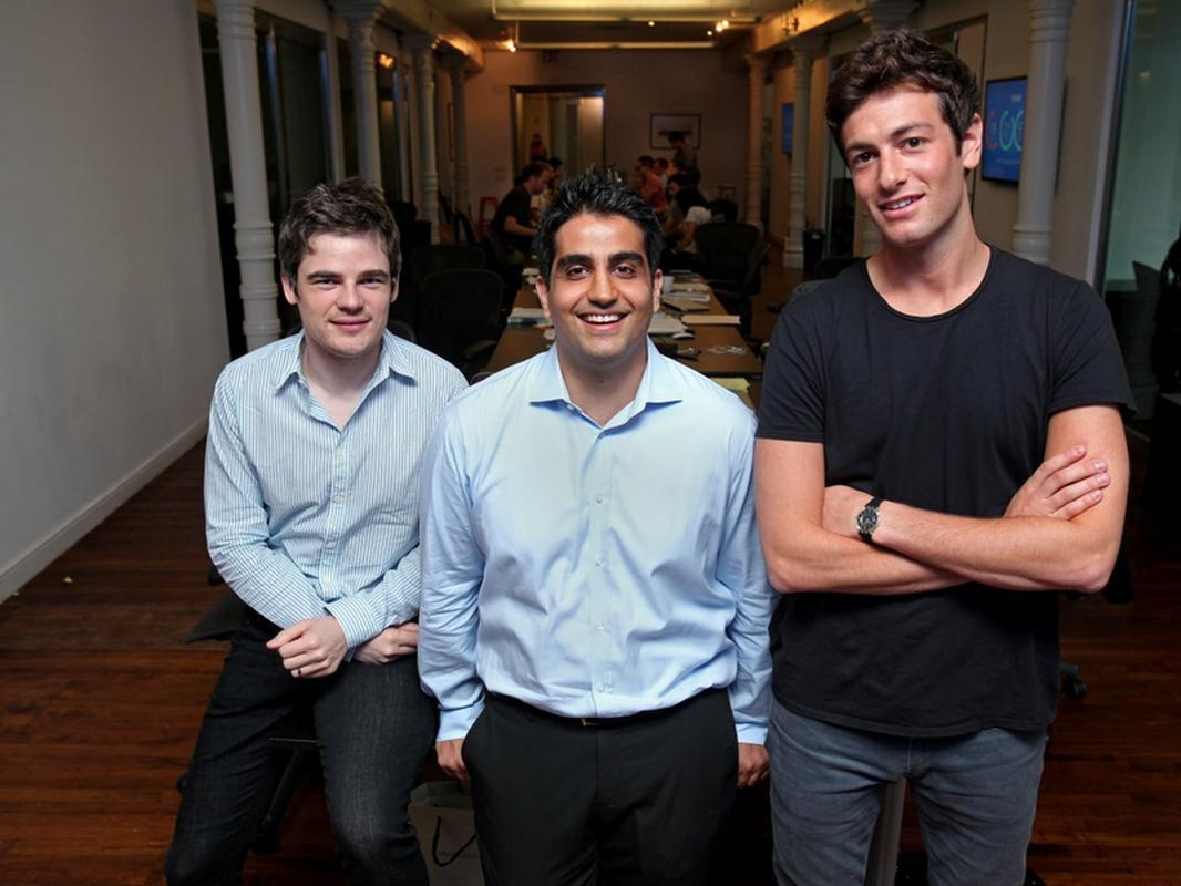Mario Schlosser, Kevin Nazemi i Joshua Kushner, założyciele Oscara
