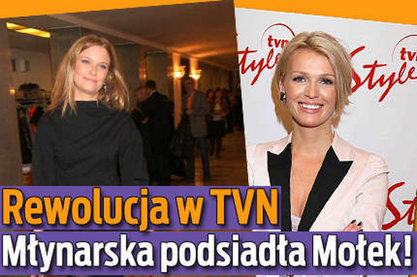 Rewolucja w TVN. Młynarska podsiadła Mołek!