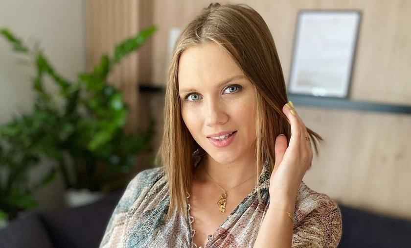 Agnieszka Kaczorowska wybrała imiędla córki.