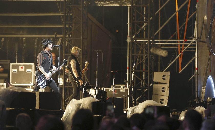 Tragiczny wypadek przed koncertem Green Day. Akrobata zginął na miejscu