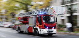 Tragiczny pożar w Krakowie. Nie żyje mężczyzna