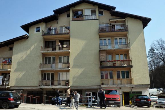 Zgrada u kojoj se dogodilo ubistvo