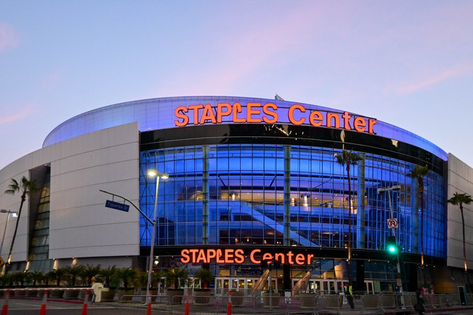 Stejpls centar večeras u Los Anđelesu