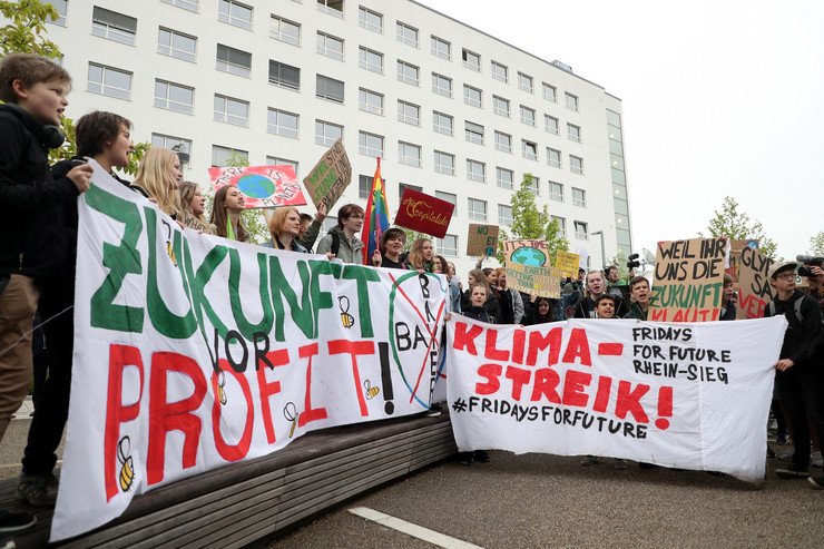 klimatski protest Bon