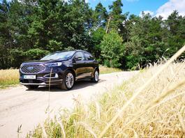 Ford Edge Vignale – cisza w cenie – TEST