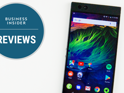 REVIEW: The new Razer Phone looks out of place in 2017, but it has one great feature that no other phone has