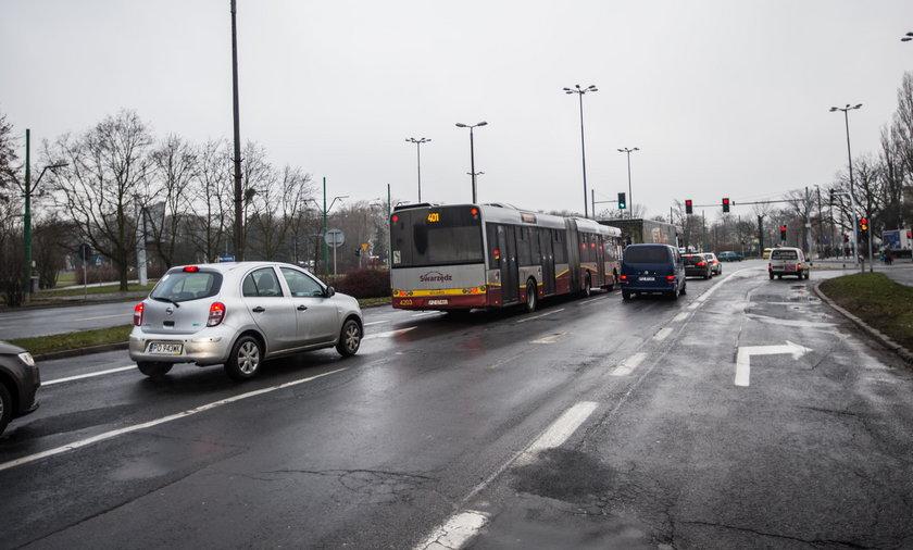 Będzie buspas na Warszawskiej