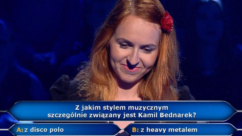 """""""Milionerzy"""": uczestniczka skrytykowała polskie reggae"""