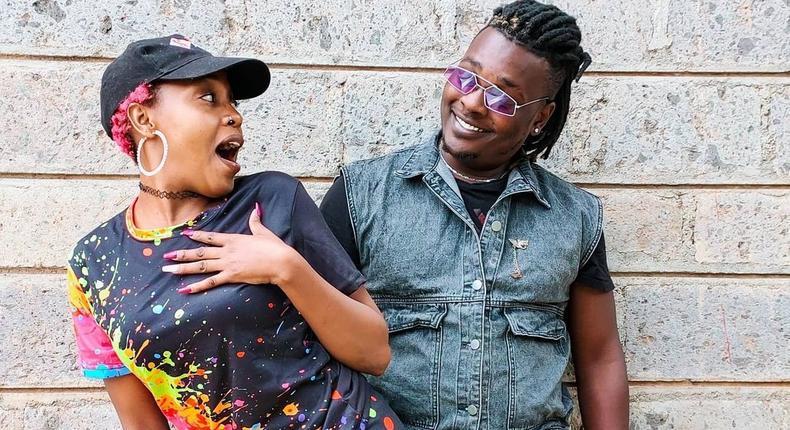 Actress Nyce 'Shiro' Wanjeri  and her Boyfriend Leting
