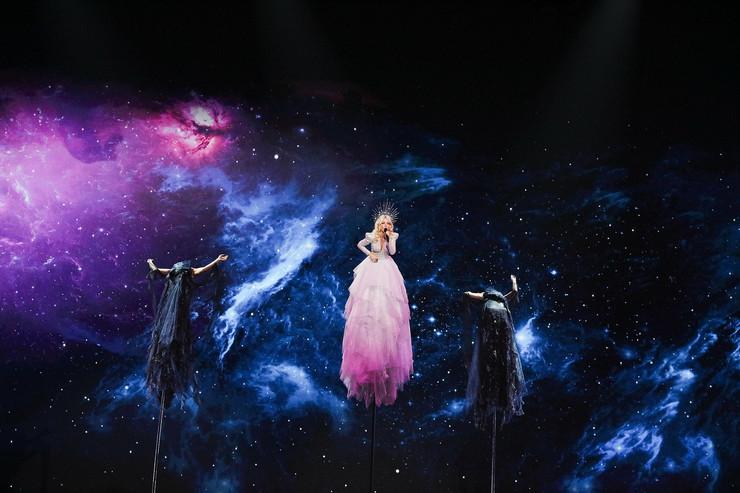 Kejt Miler Australija, Evrosong, Evrovizija
