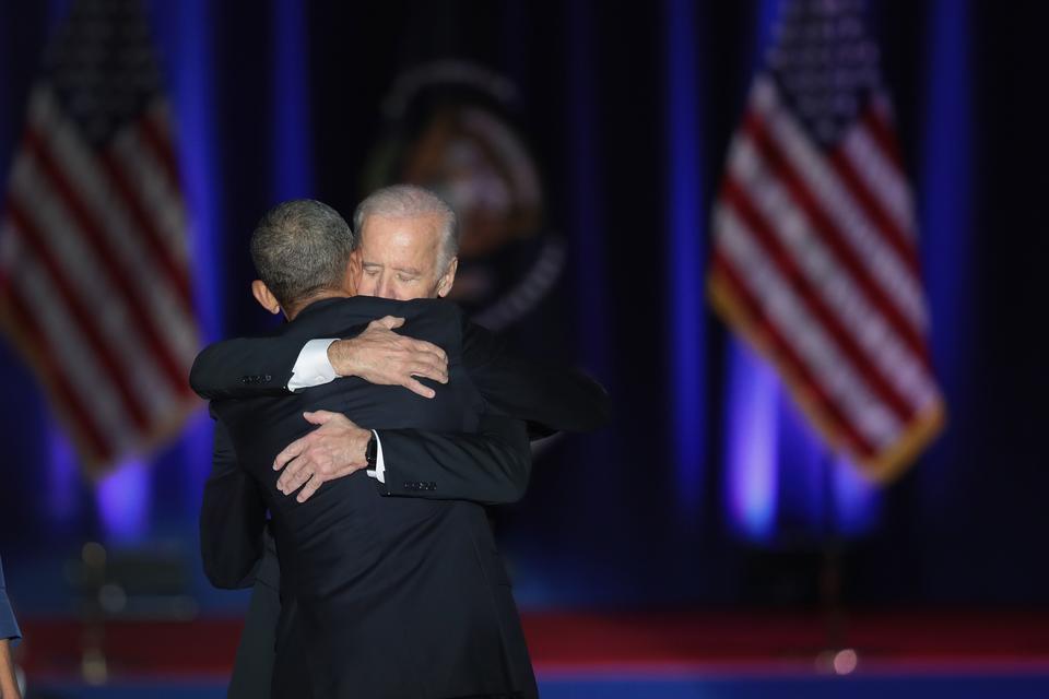 Obama dziękował też wiceprezydentowi Joe Bidenowi, który - jak powiedział - był doskonałym wyborem.
