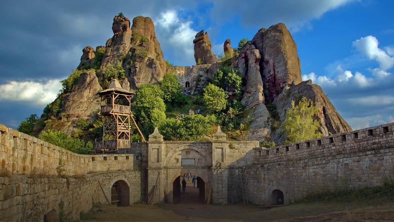 Zamek Bełogradczik w Bułgarii