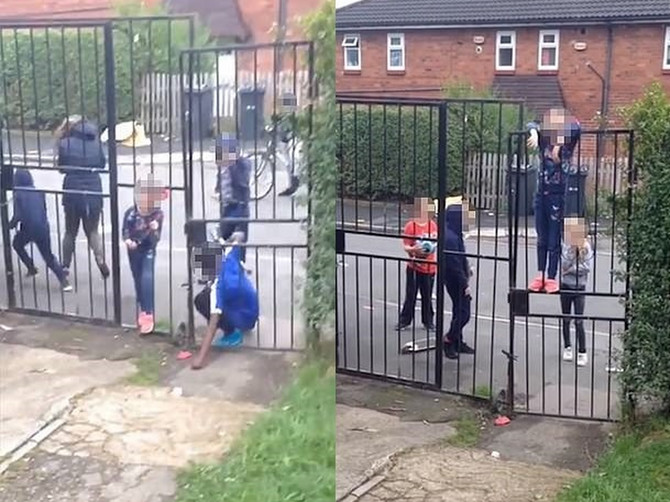 Agresivna deca u zapadnom Jorkširu