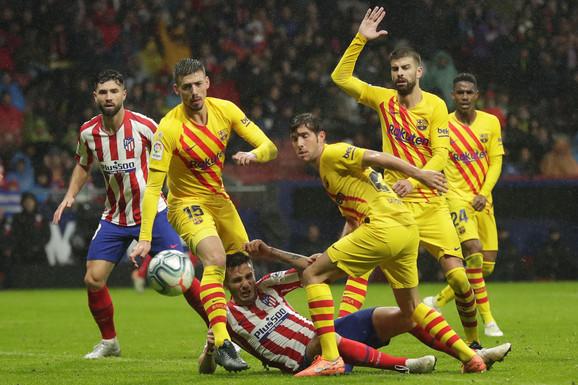 FK Barselona, FK Atletiko Madrid