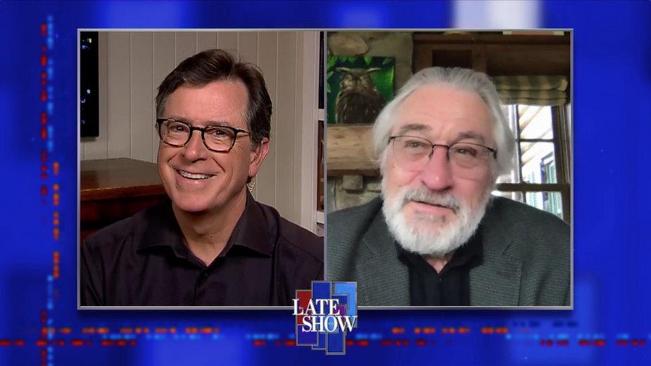 Stephen Colbert i Robert DeNiro