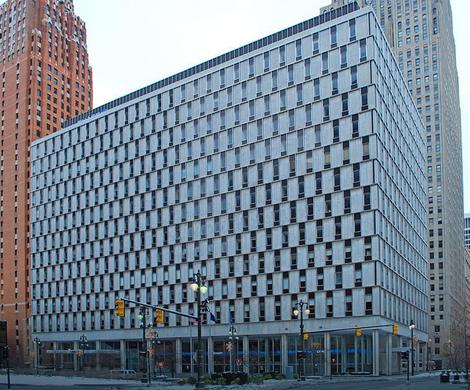 "Sedište firme ""Kviken loans"" u finansjskom kvartu Detroita"