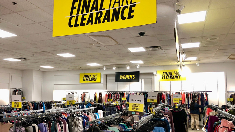 JCPenney final clearance