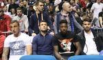 CRVENO-BELA PORODICA Fudbaleri Zvezde uz košarkaše: Došli smo da uživamo! /VIDEO/