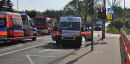 Wypadek karetki w Pile. Zmarł pacjent