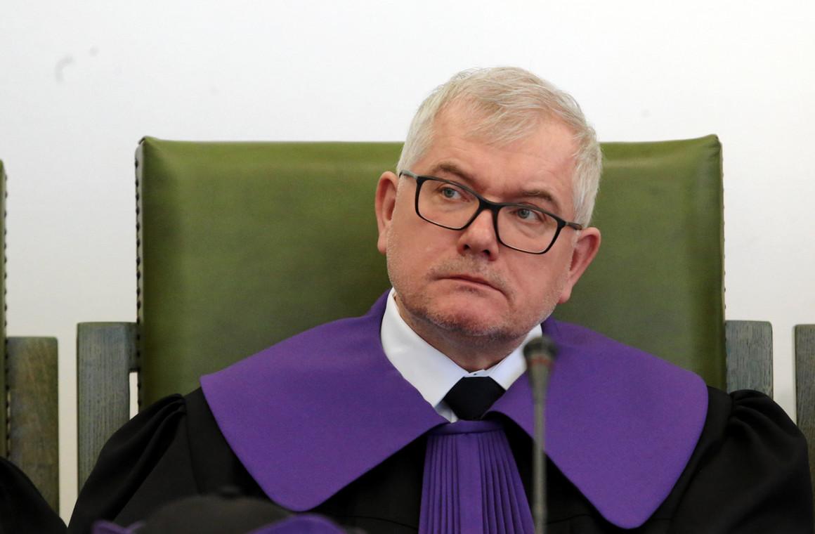 Piotr Niedzielak sędzia Izby Dyscyplinarnej Sądu Najwyższego