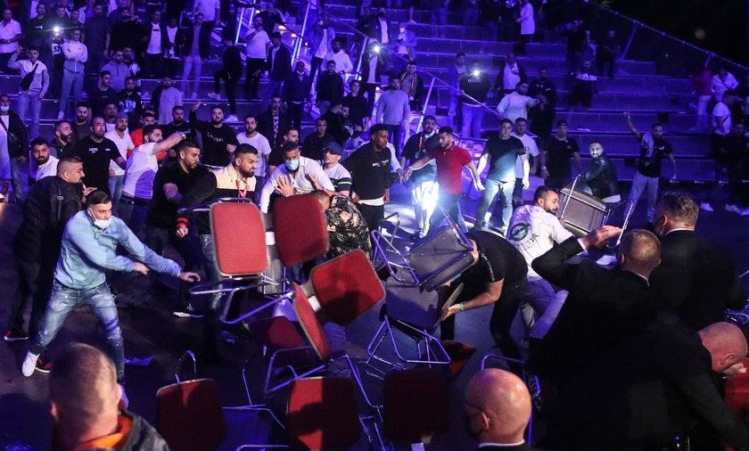 W Magdeburgu grupa kibiców uznała, że za mało się działo w czasie bokserskiej gali i sami przystąpili do walki