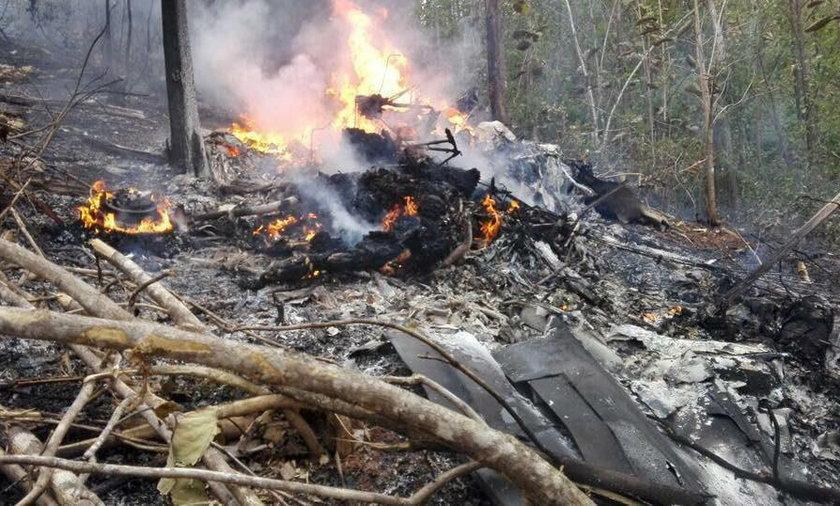 Katastrofa samolotu w Kostaryce