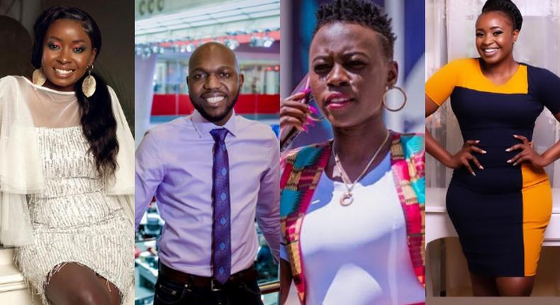 Jacque Maribe, Larry Madowo, Akothee and Terry Muikamba