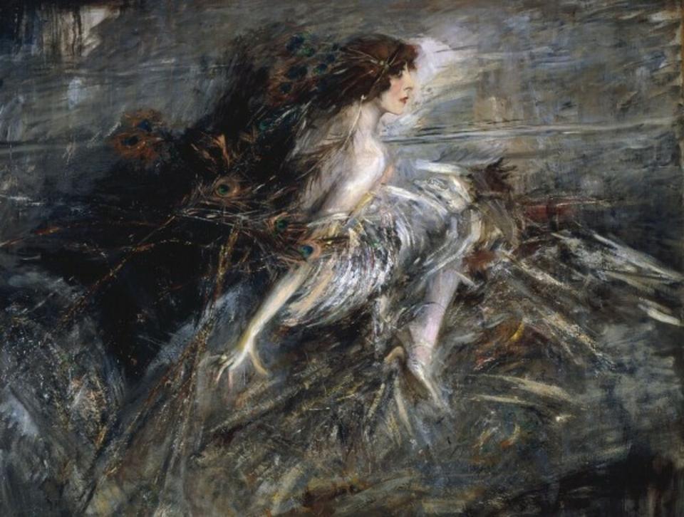 Luisa Casati na obrazie Giovanniego Boldiniego