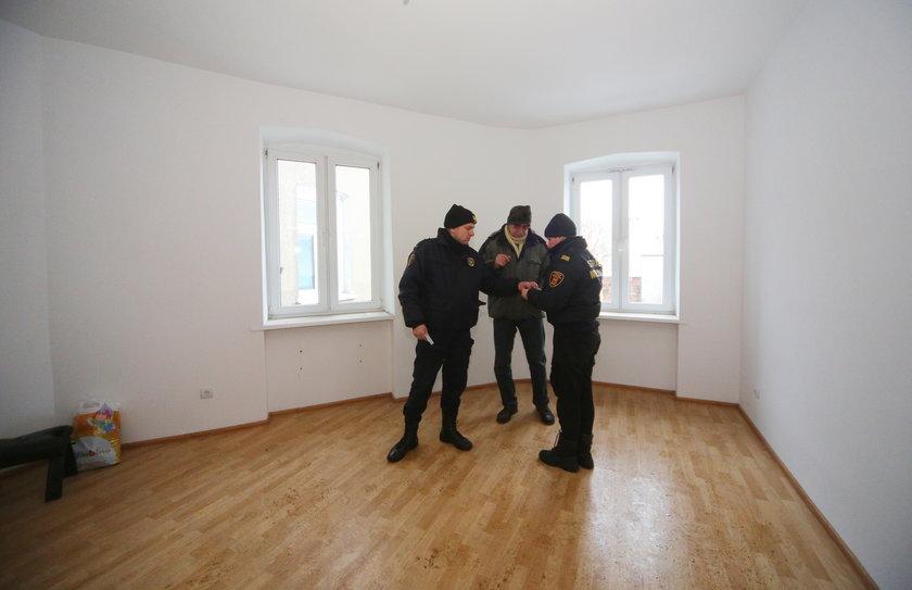 Grzegorz Gołembiewski w nowym mieszkaniu