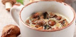 Zupa grzybowa wigilijna z łazankami i barszcz czerwony z uszkami. Proste przepisy