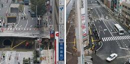 Gigantyczna dziura w centrum miasta. Po tygodniu stało się coś niewyobrażalnego!