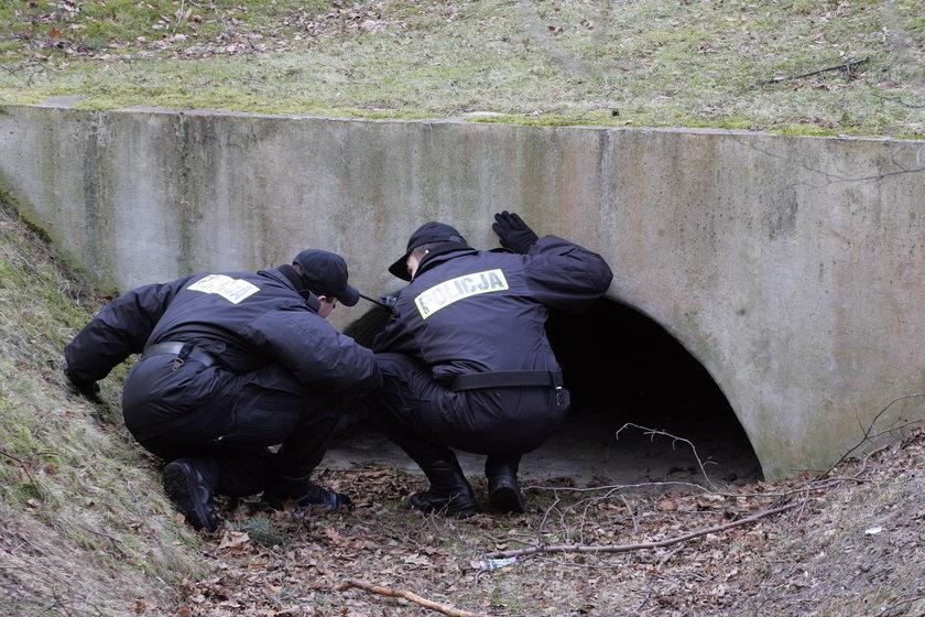 Posziukiwania śladów mordercy Agaty