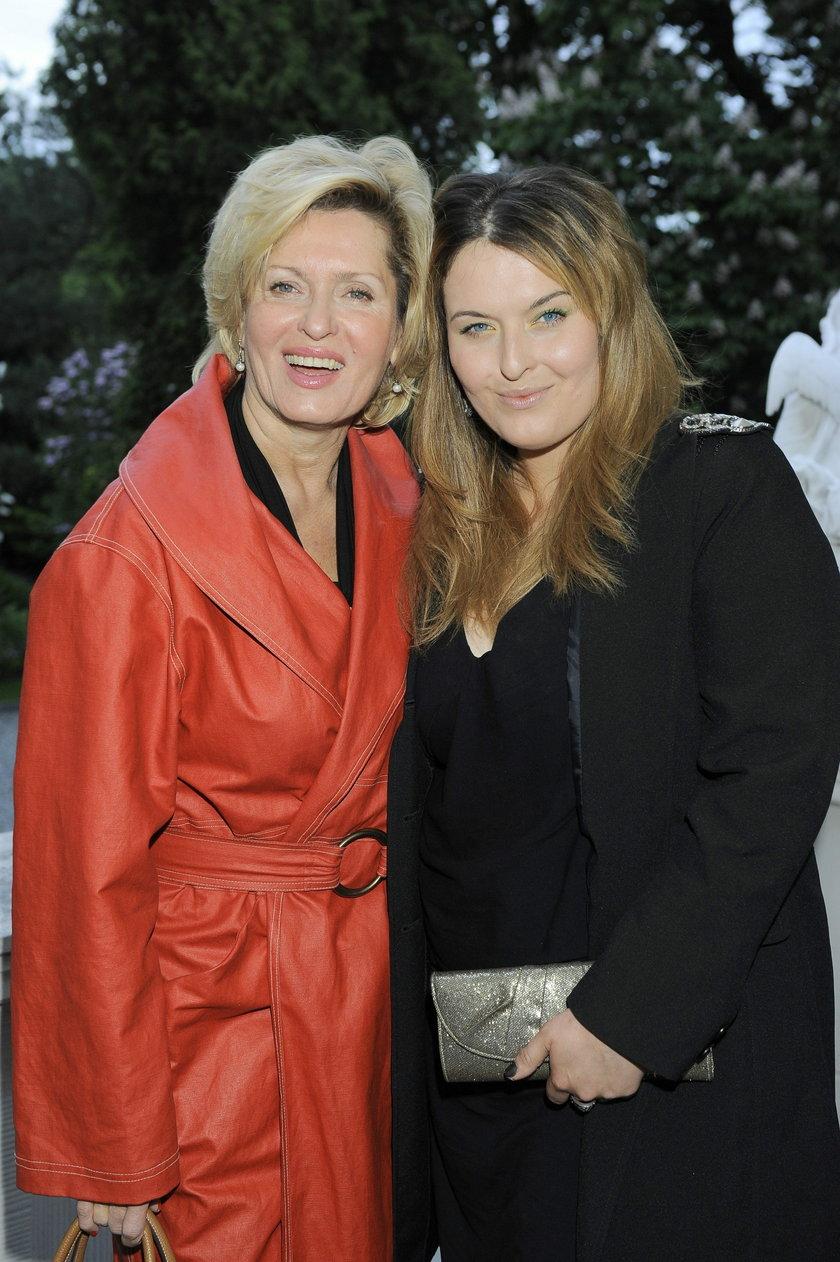 Ewa Kasprzyk z córką, Małgorzatą Bernatowicz