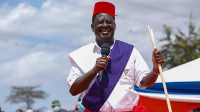 Raila to get Nairobi road renamed after him in new motion