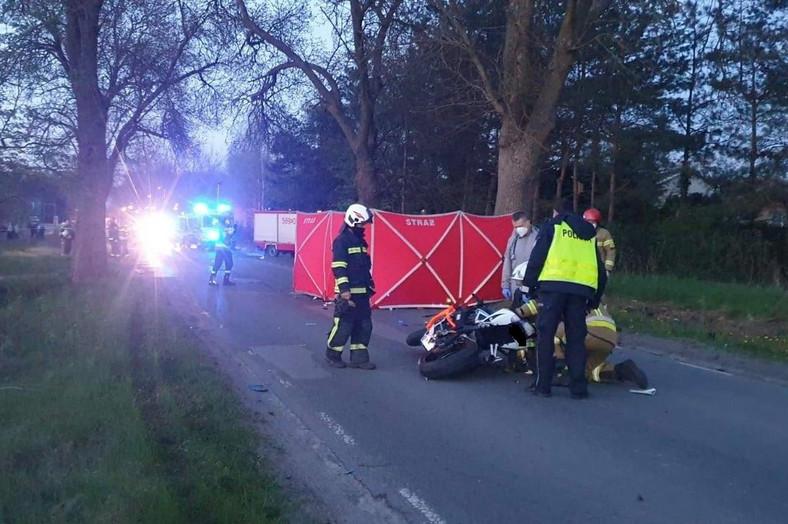 Wypadek w Aleksandrowie Łódzkim