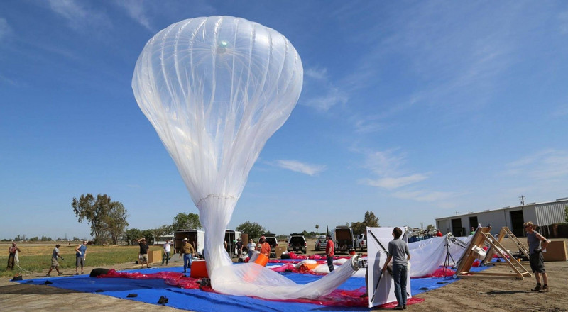 Uhuru's beloved Google balloon collected in a Congolese village