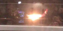 Dramat podczas lądowania. Zapalił się silnik samolotu