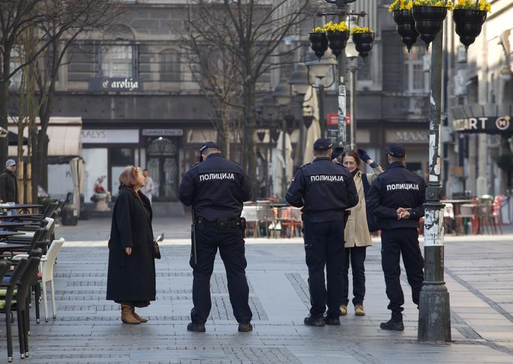 Beograd vanredno stanje 19.3.2020.