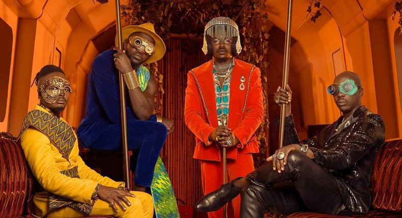Sauti Sol & Nviiri top list of most streamed artistes and Songs on Spotify