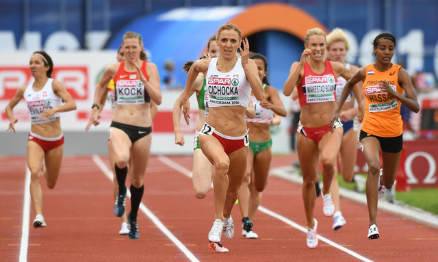 Anđelika Cihočka trijumfuje u finalu na 1500 metara