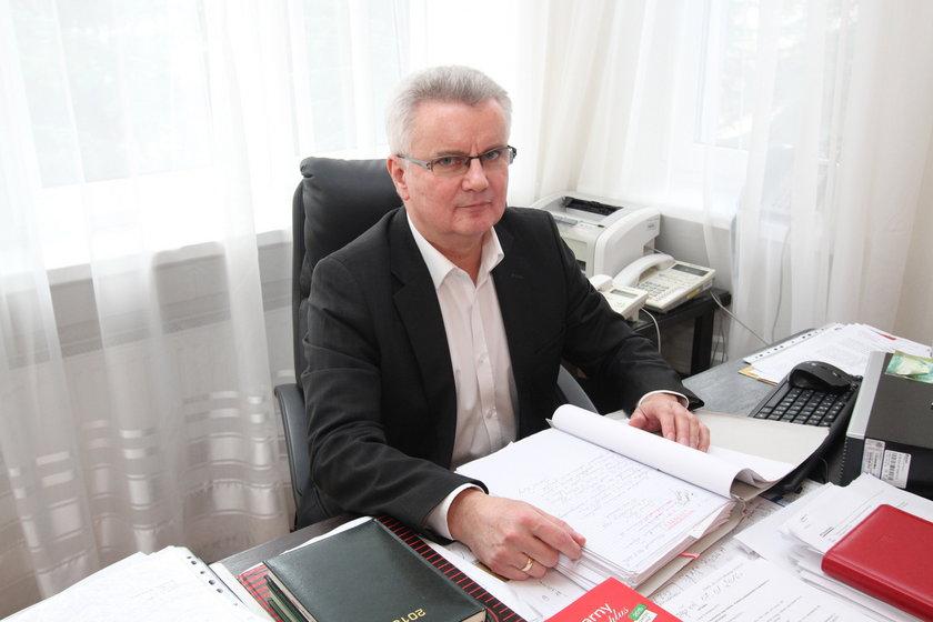 Jerzy Sajchta prokurator rejonowy w Szczecinku