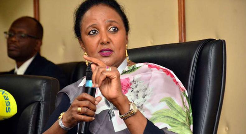 CS Amina Mohamed breaks silence after Uhuru moved her to Sports Ministry