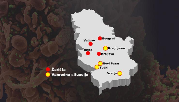 zarista vanredna situacija mapa foto RAS EPA Shutterstock