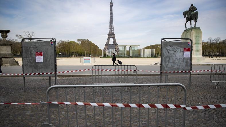 Koronawirus w Francji. Paryż
