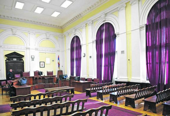 Iz zgrade suda vodio je ratne operacije u Prvom svetskom ratu